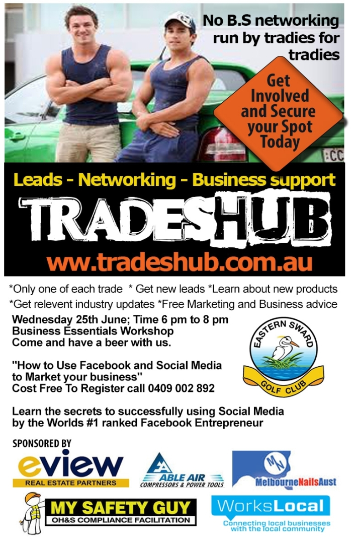 Trades Hub Flyer