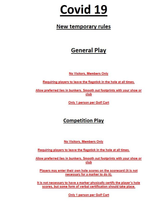 Local Rules Update
